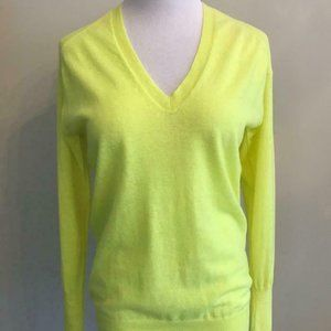 J.Crew $228 Featherweight Cashmere V-Neck A0772